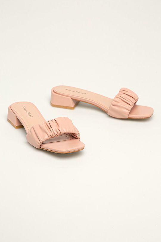 Answear Lab - Klapki Sweet Shoes różowy