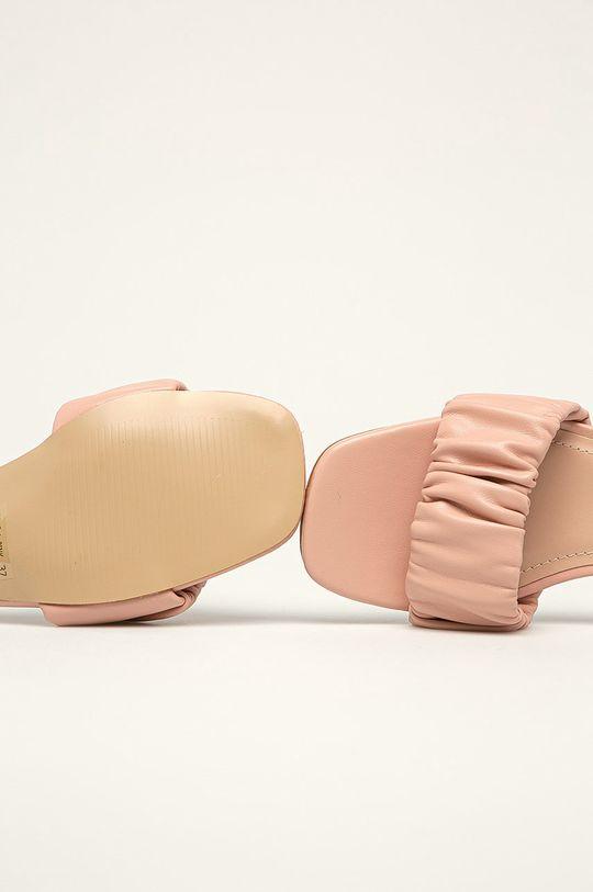 różowy Answear Lab - Klapki Sweet Shoes