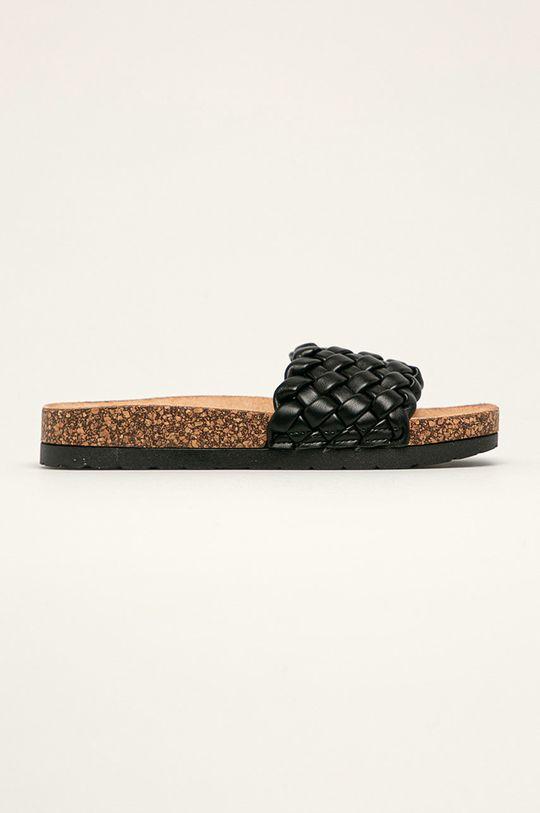 černá Answear Lab - Pantofle Sweet Shoes Dámský