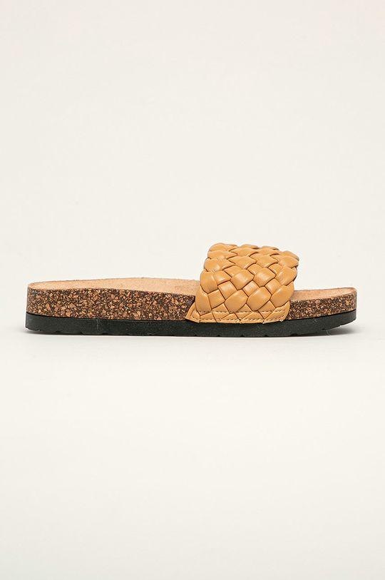zlatohnědá Answear Lab - Pantofle Sweet Shoes Dámský