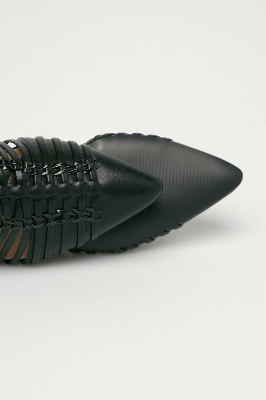 czarny Answear Lab - Klapki Bellamica
