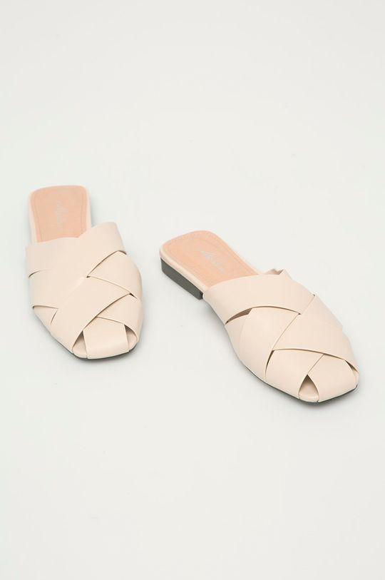 Answear Lab - Pantofle Mellisa béžová