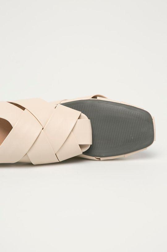 béžová Answear Lab - Pantofle Mellisa