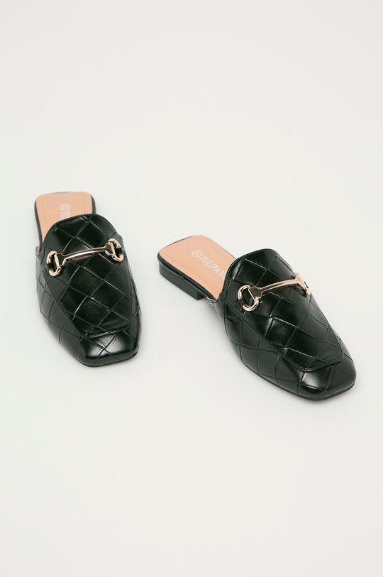Answear Lab - Pantofle Tulipano černá