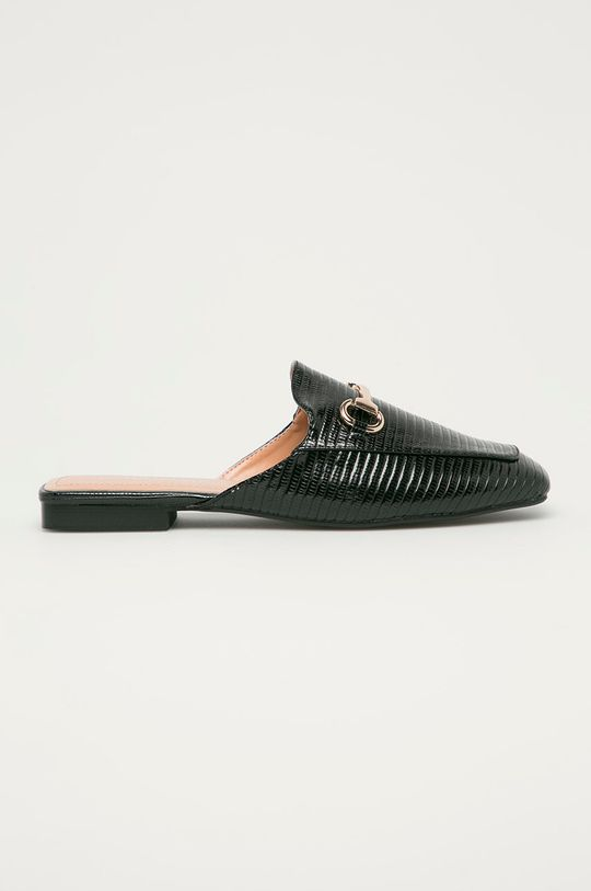 černá Answear Lab - Pantofle Tulipano Dámský