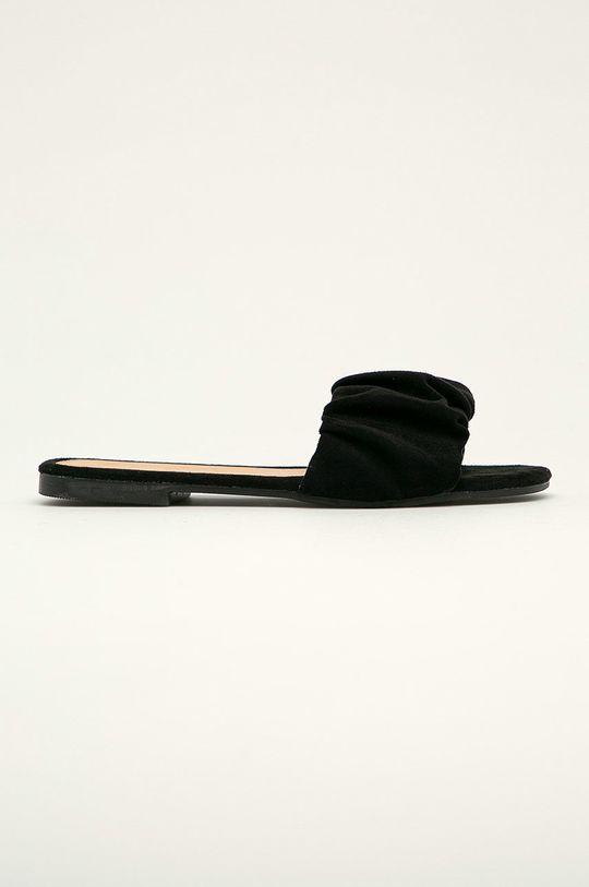 černá Answear Lab - Pantofle Ideal Shoes Dámský