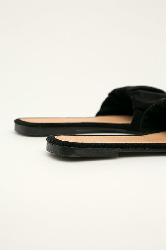 Answear Lab - Pantofle Ideal Shoes  Svršek: Textilní materiál Vnitřek: Umělá hmota, Textilní materiál Podrážka: Umělá hmota
