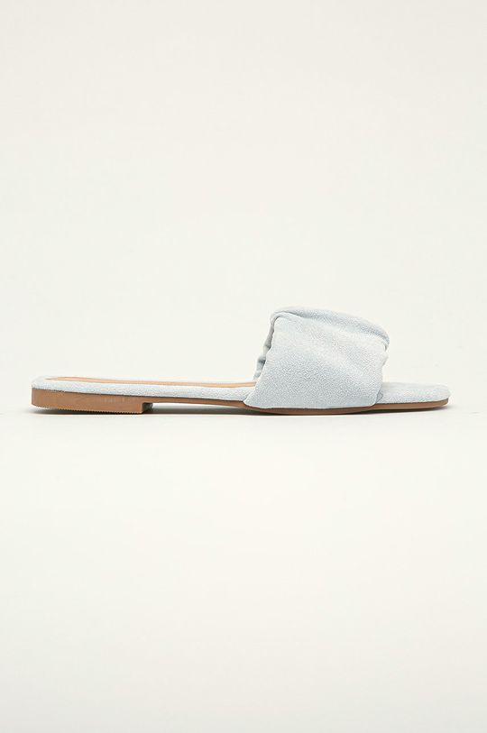 modrá Answear Lab - Pantofle Ideal Shoes Dámský