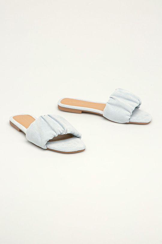 Answear Lab - Pantofle Ideal Shoes modrá