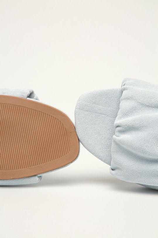 modrá Answear Lab - Pantofle Ideal Shoes