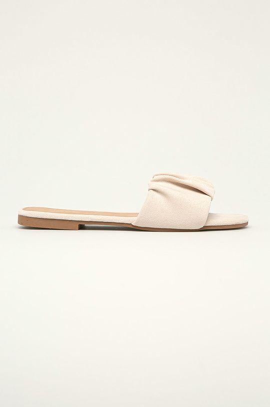 béžová Answear Lab - Šľapky Ideal Shoes Dámsky