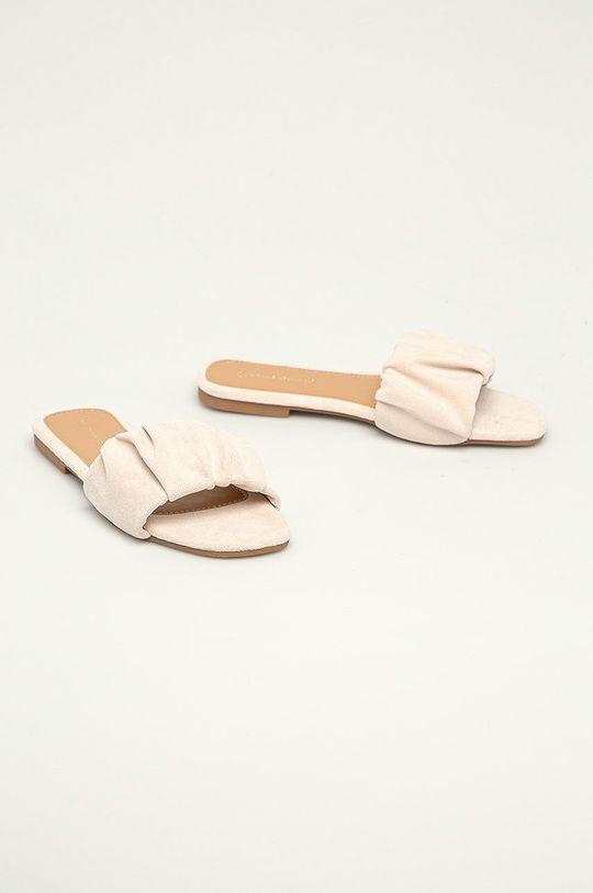 Answear Lab - Šľapky Ideal Shoes béžová