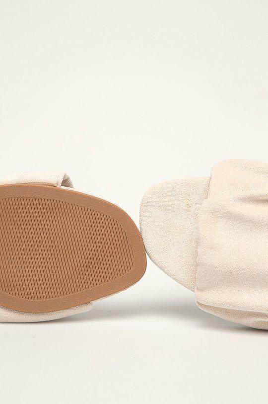 béžová Answear Lab - Šľapky Ideal Shoes