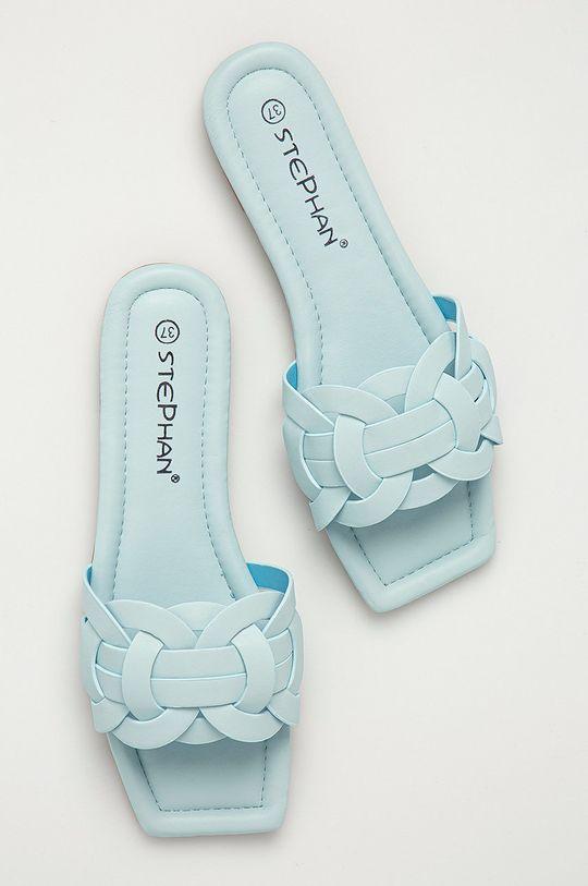 modrá Answear Lab - Šľapky Stephan