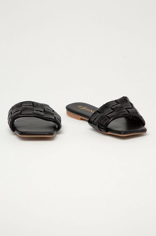 Answear Lab - Šľapky Jeeini čierna