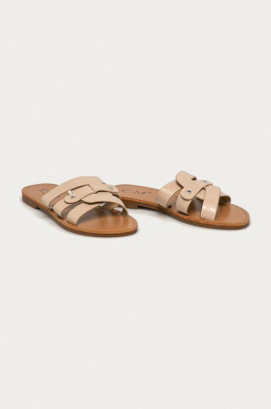 Answear Lab - Pantofle CM béžová