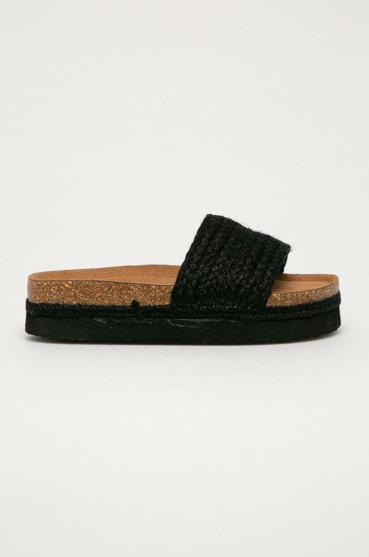 černá Answear Lab - Pantofle FlyFor Dámský