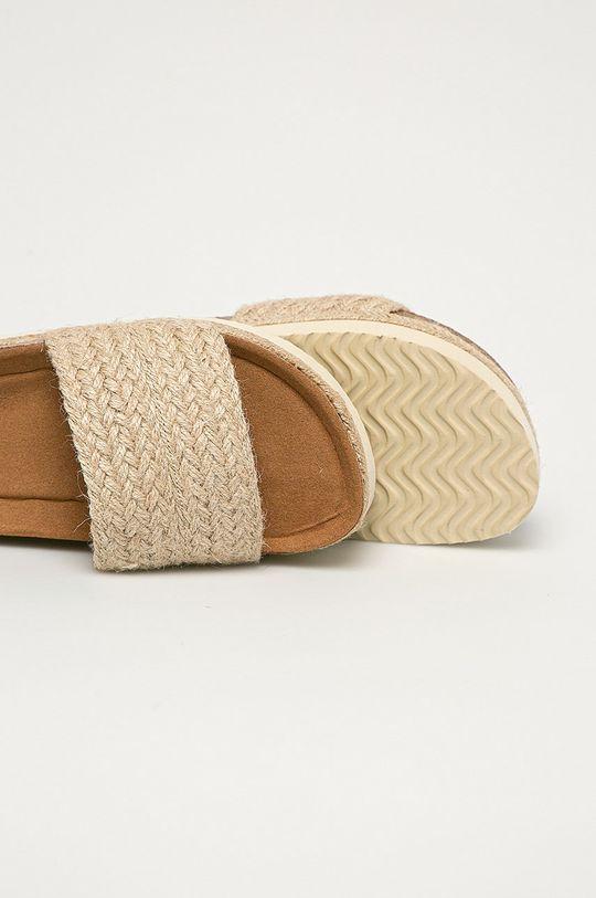 Answear Lab - Pantofle FlyFor  Svršek: Textilní materiál Vnitřek: Textilní materiál Podrážka: Umělá hmota