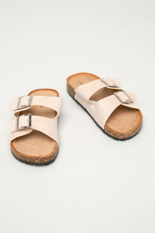 Answear Lab - Pantofle Ideal Shoes béžová