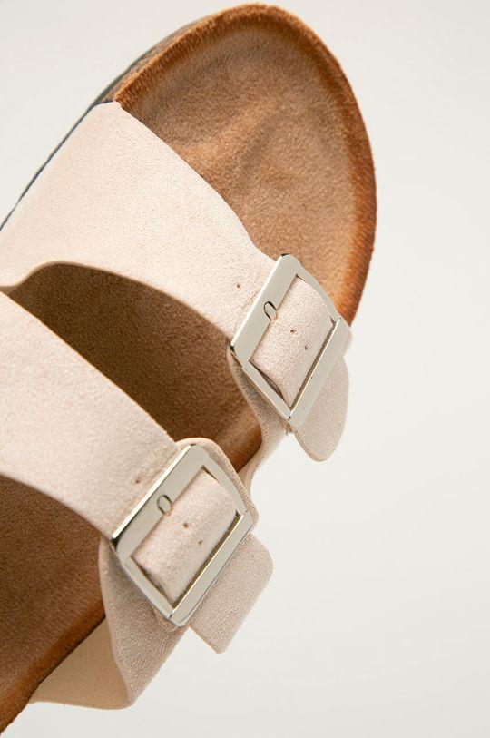 Answear Lab - Pantofle Ideal Shoes  Svršek: Textilní materiál Vnitřek: Textilní materiál Podrážka: Umělá hmota