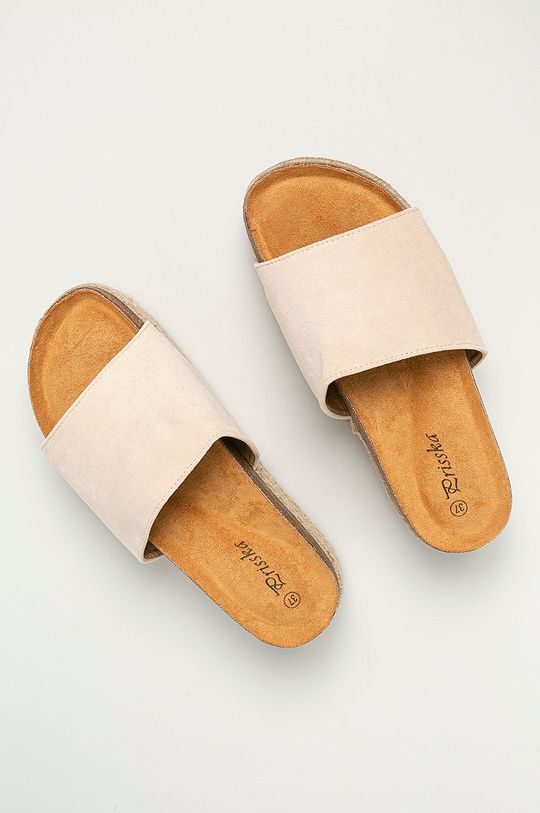 Answear Lab - Pantofle Prisska béžová