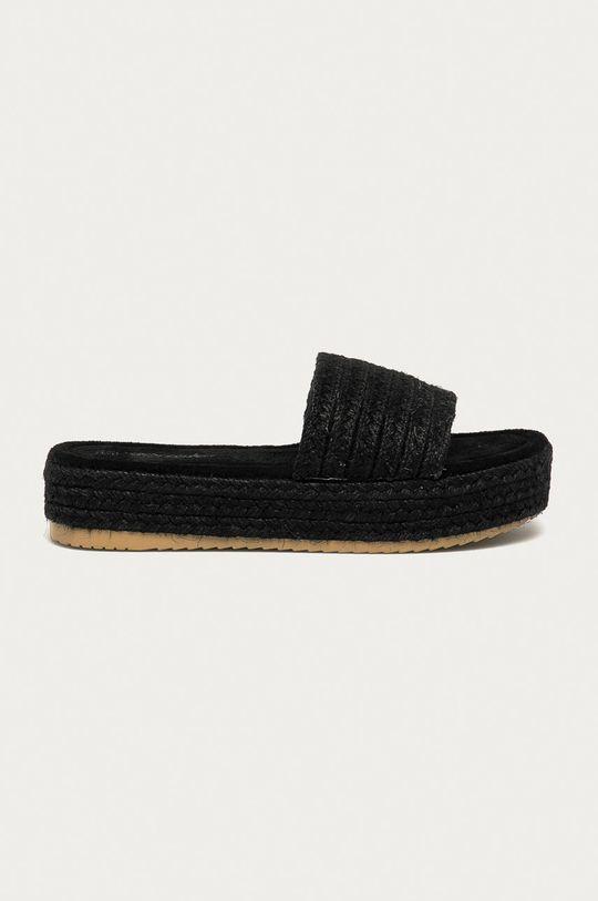 černá Answear Lab - Pantofle Prisska Dámský