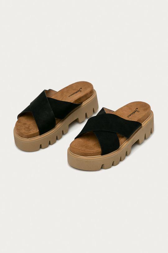Answear Lab - Pantofle Festissimo černá