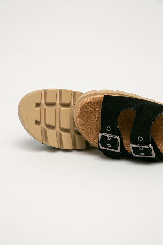 černá Answear Lab - Pantofle Festissimo