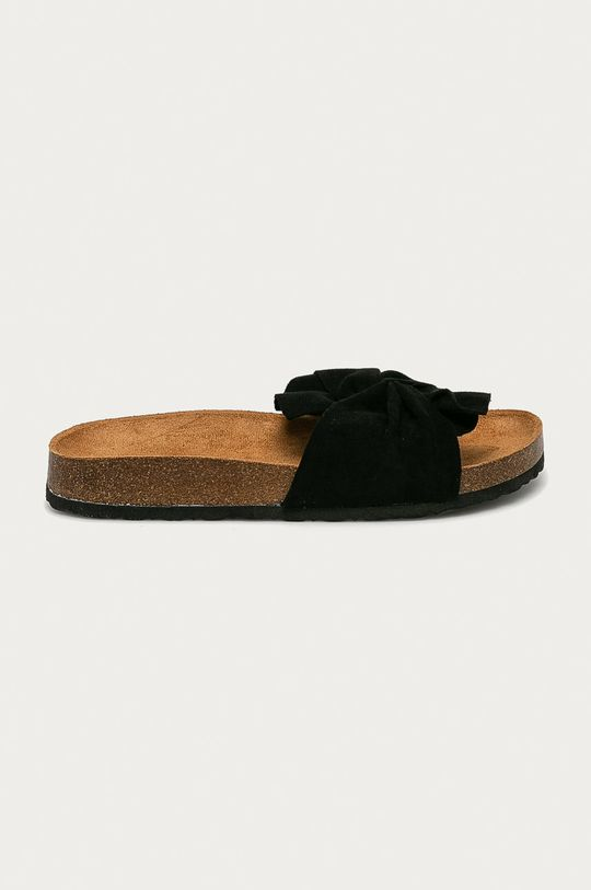 černá Answear Lab - Pantofle Sun Sea Dámský