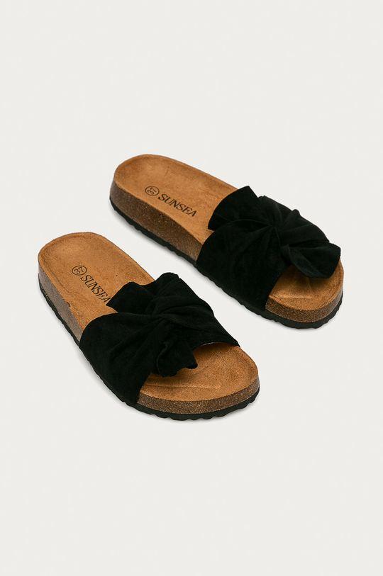 Answear Lab - Pantofle Sun Sea černá