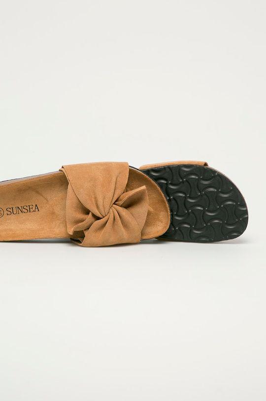 Answear Lab - Klapki Sun Sea Cholewka: Materiał tekstylny, Wnętrze: Materiał tekstylny, Podeszwa: Materiał syntetyczny