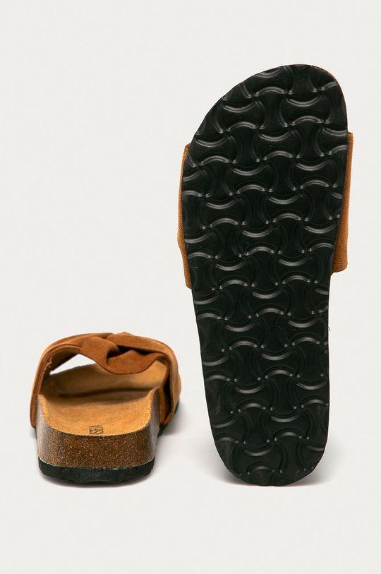 zlatohnědá Answear Lab - Pantofle