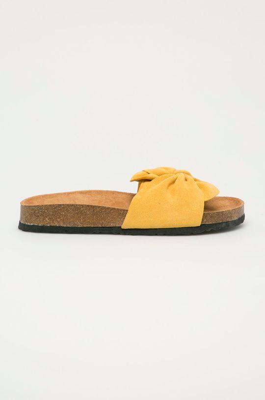 žltá Answear Lab - Šľapky Sun Sea Dámsky