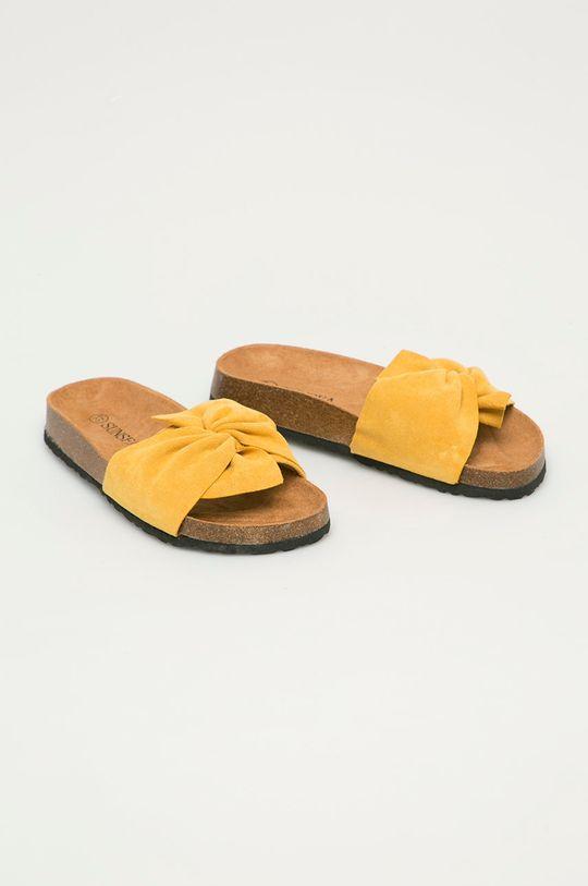 Answear Lab - Šľapky Sun Sea žltá