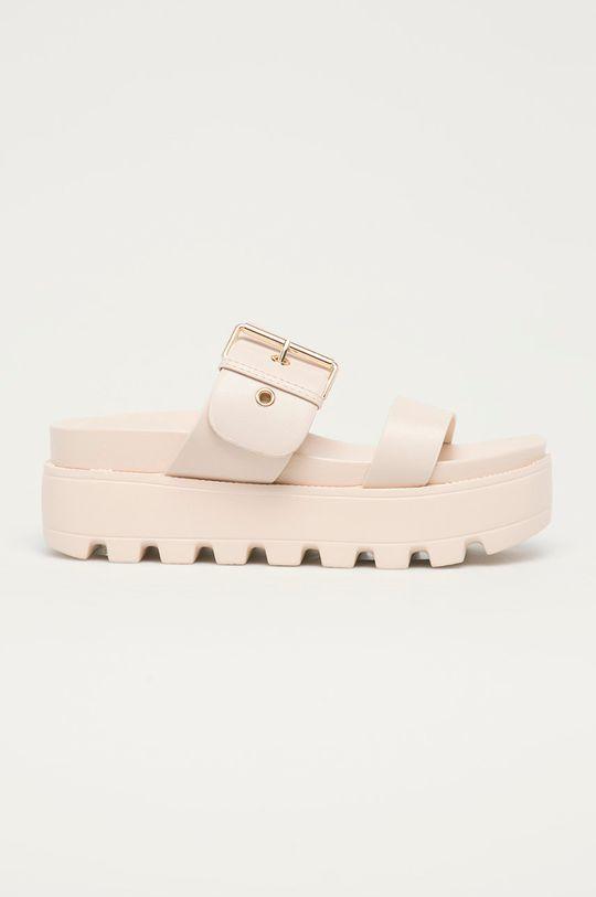béžová Answear Lab - Pantofle Moda Plus Dámský
