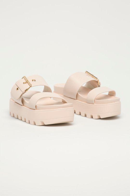 Answear Lab - Pantofle Moda Plus béžová