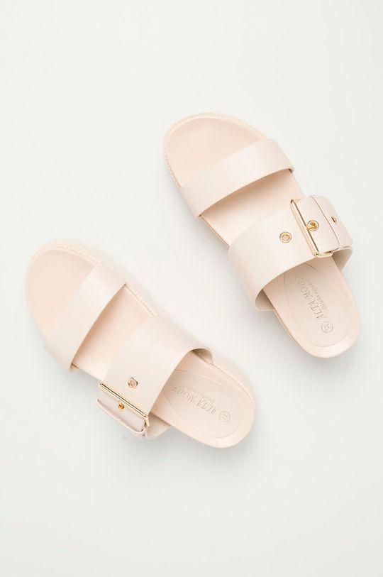 béžová Answear Lab - Pantofle Moda Plus