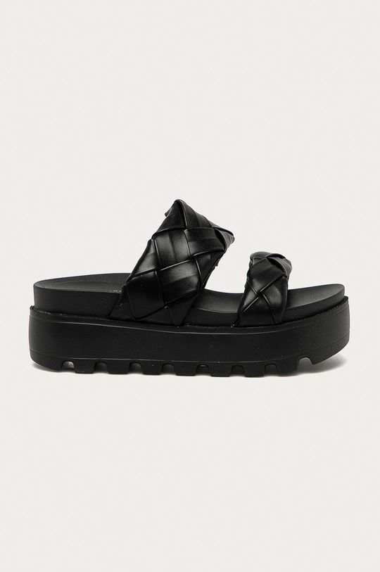 čierna Answear Lab - Šľapky Moda Plus Dámsky