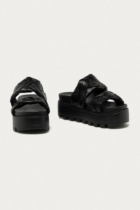 Answear Lab - Šľapky Moda Plus čierna