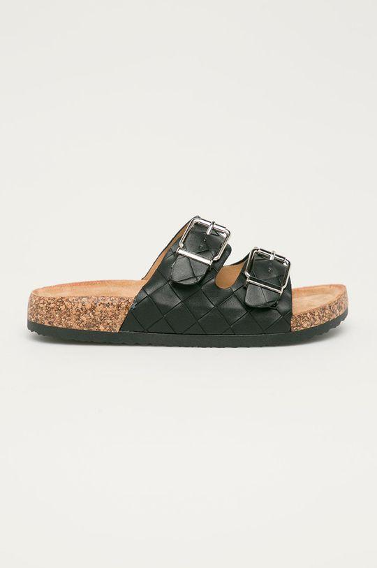 černá Answear Lab - Pantofle Buonarotti Dámský