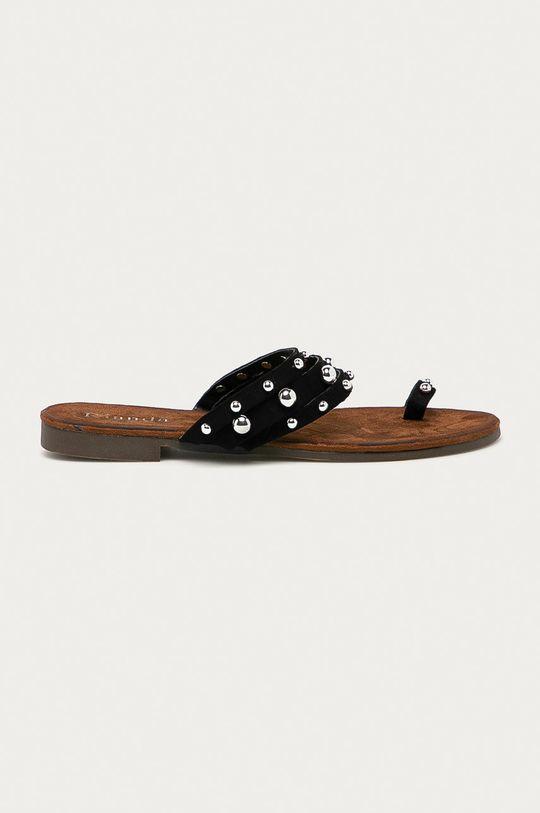 černá Answear Lab - Pantofle Rianda Dámský
