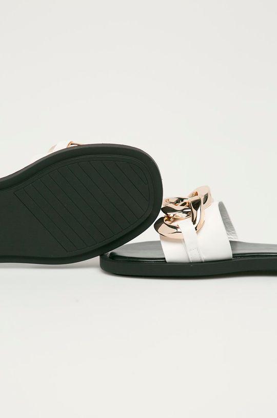 Answear Lab - Pantofle Buonarotti bílá