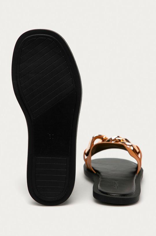 zlatohnědá Answear Lab - Pantofle Buonarotti