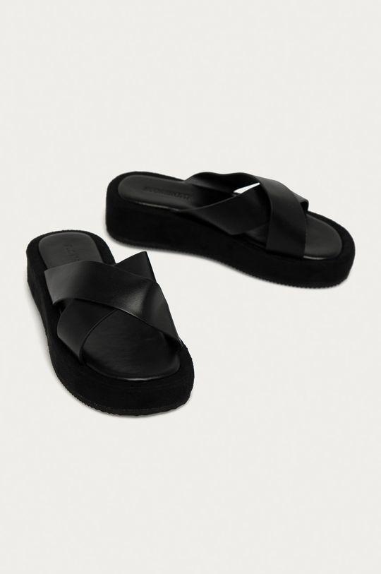 Answear Lab - Šľapky Buonarotti čierna