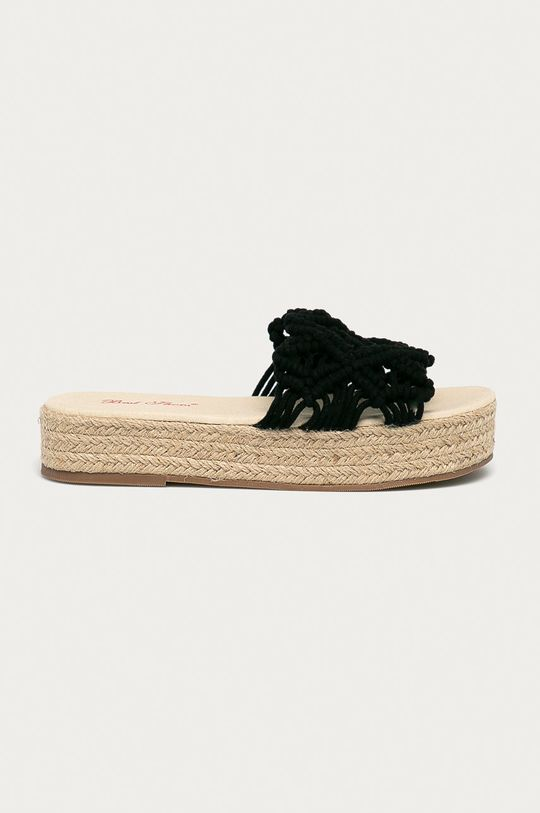čierna Answear Lab - Šľapky Best Shoes Dámsky