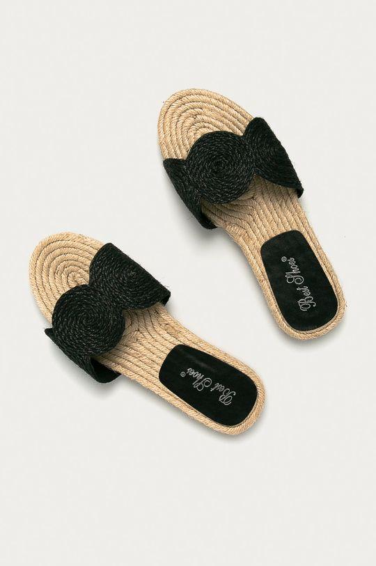 Answear Lab - Pantofle Best Shoes černá