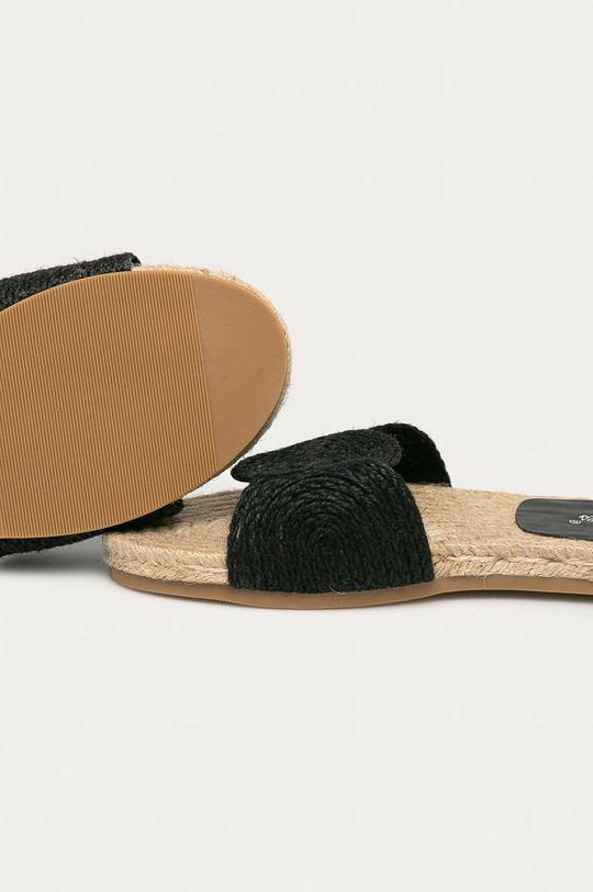 Answear Lab - Pantofle Best Shoes  Svršek: Textilní materiál Podrážka: Umělá hmota