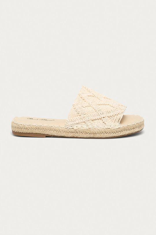 béžová Answear Lab - Pantofle Best Shoes Dámský