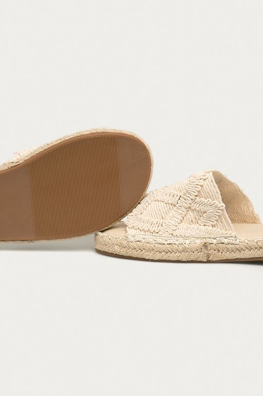 béžová Answear Lab - Pantofle Best Shoes
