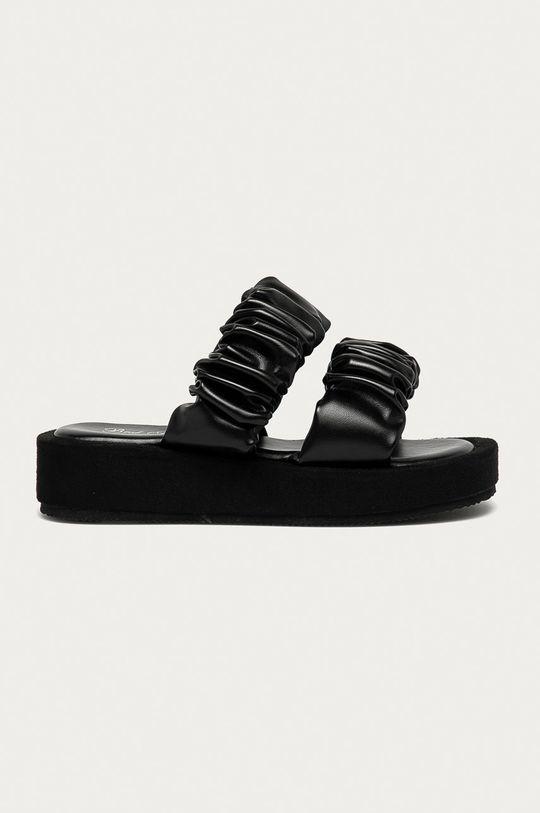 černá Answear Lab - Pantofle Best Shoes Dámský